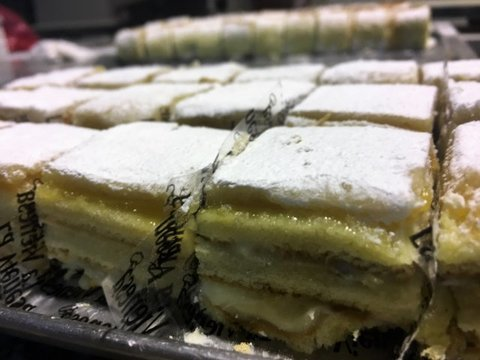 lavienesa.es - Pastel mini de mazapán - Panadería La Vienesa