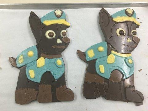lavienesa.es - Elaboración de figuras de chocolate - Panadería La Vienesa