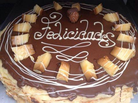 lavienesa.es - Tarta de flan con nata - Panadería La Vienesa